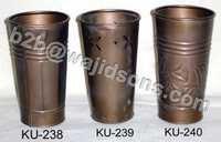 Vase Copper finish