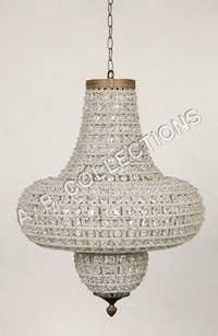 BEADED TYLE SHAPE DESIGN CHANDELIER