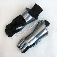 Mitten-Gauntlets Pair Gloves