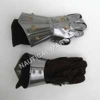 Armor Medieval Knight Crusader Spartan Gloves