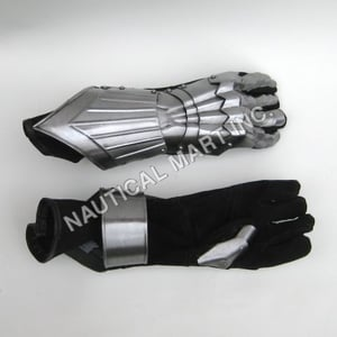 Black Gauntlet Heavy Duty Gloves