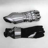 Black Gauntlet Heavy Duty Gloves