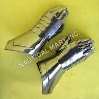Armor Medieval Gauntlets Functional Gloves