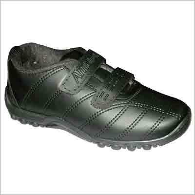 Designer Black School Shoes