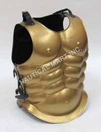 Greek Spartan Gold Muscle Armor