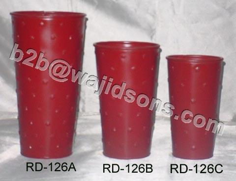 Red Vase Dots