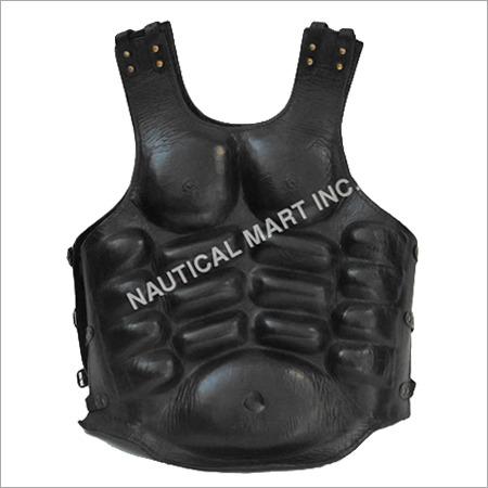 Armor Venue Brigandine Leather Jacket Black