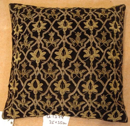 Zari Cushion Cover