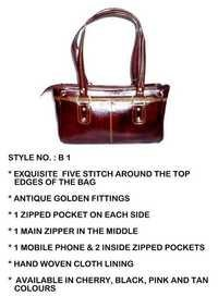 Leather Ladies Handbags