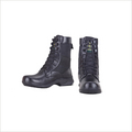 Black High Ankle Army Boots