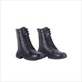 Black Cloth Army Boots