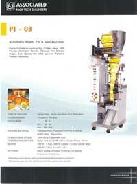 Automatic Form Fill Seal (FFS) Machine For Granule