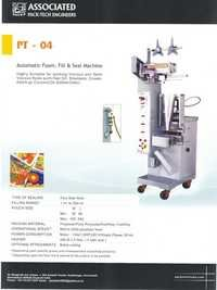 Automatic Paste Pouch Packing Machines