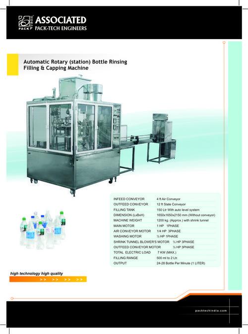 Bottle Filing Machines