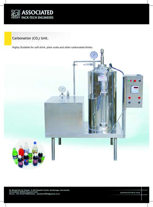 Carbonated Drink Packing Machine