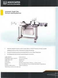 Vertical Labeling Machine