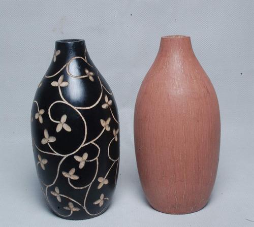 Exotic Wood Vase