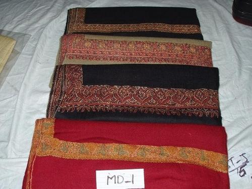 Pure Pashmina Kashmiri Jaal Embroidery Shawls