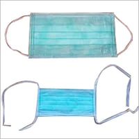 Face Mask with tie & elastic