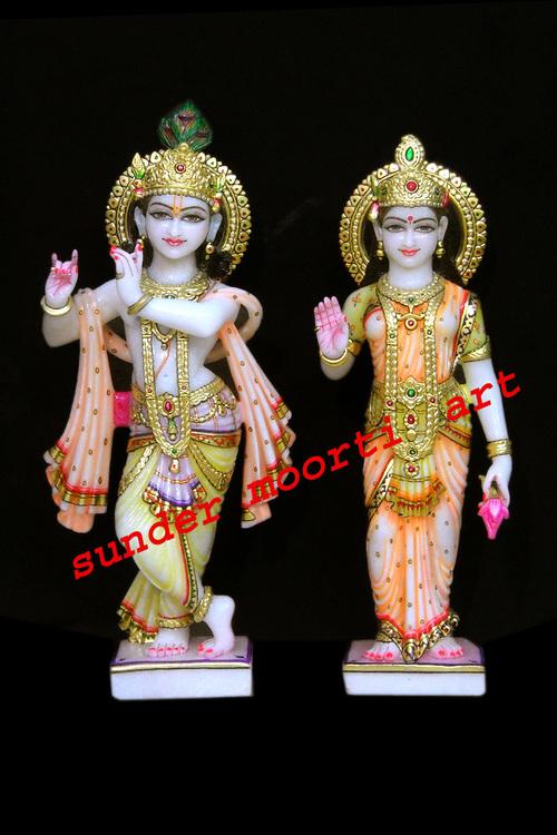 Marble Radha Krishna Ji Statues