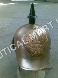 Copper German Helmet