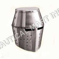 Steel Helm Medieval Armour Helmet