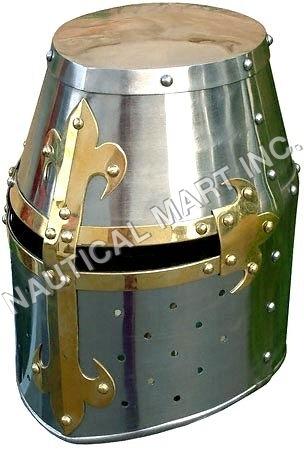 Deluxe Crusador Knight Helmet
