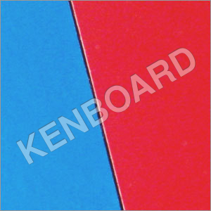 Blue Red Laminate Board