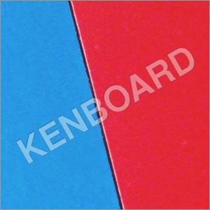 Blue Red Laminate Board