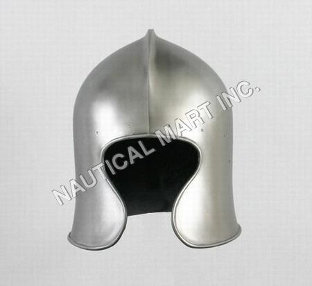 Armor Barbute Helmet
