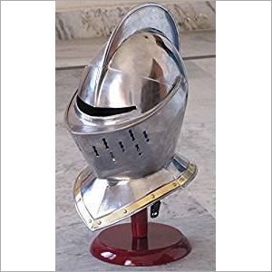 Medieval Armor European Closed Helmet