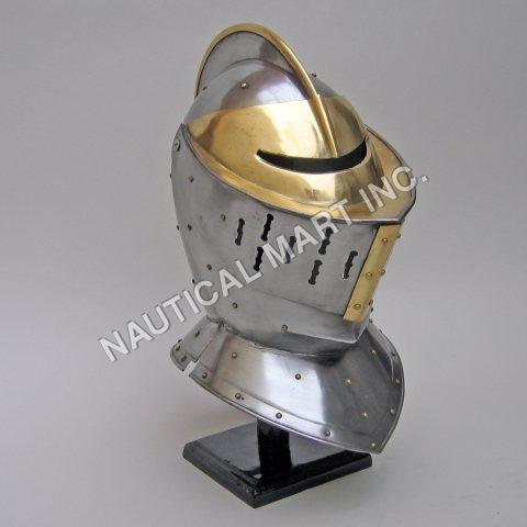 Armor Medieval European Knight Helmet