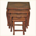 Wooden Nesting Table