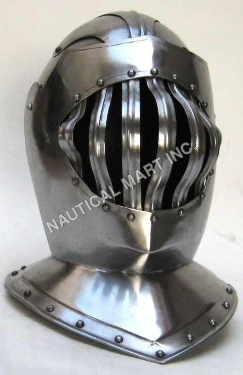 Armor Medieval Great Bascinet Helmet Manufacturer,Supplier