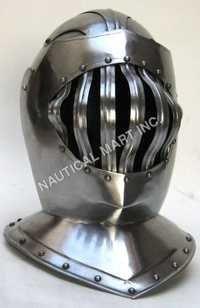 Armor Medieval Great Bascinet Helmet