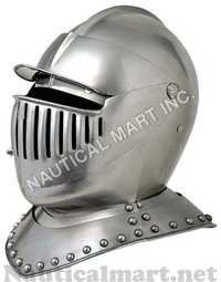 Antique Armor Medieval Knight Helmet