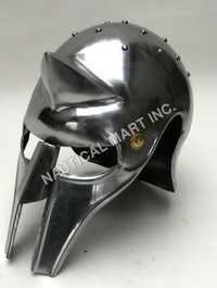 Gladiator Roman Maximus Style Helmet Armor