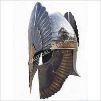 Roman Gladiator Armour King Helmet