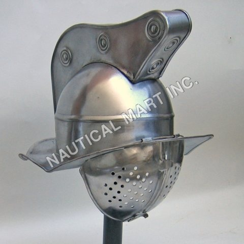 Armor Deluxe Gladiator Fight Helmet