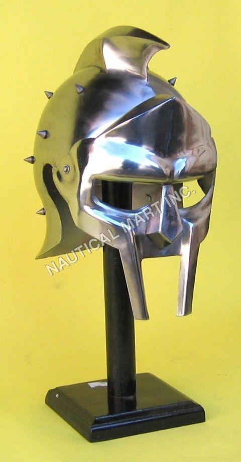 Medieval Armor Helmet Gladiator Maximus