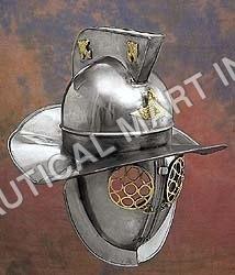Decorative Gladiator Fight Wearable Armor Helmet