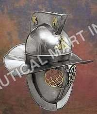 Decorative Gladiator Fight Wearable Armor Helmet