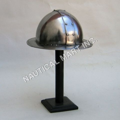 Epic Kettle Hat Metallic Helmet