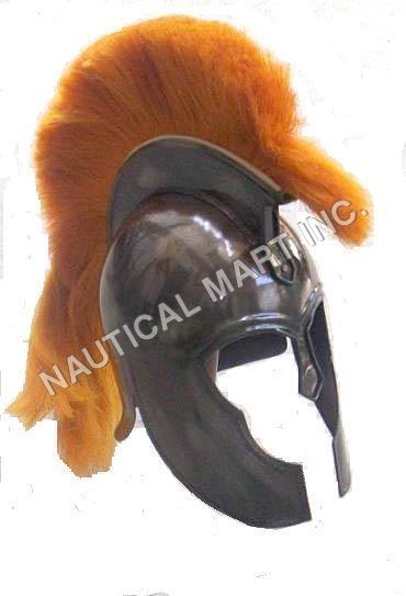 Medieval Armor Roman Troy Trojan Helmet