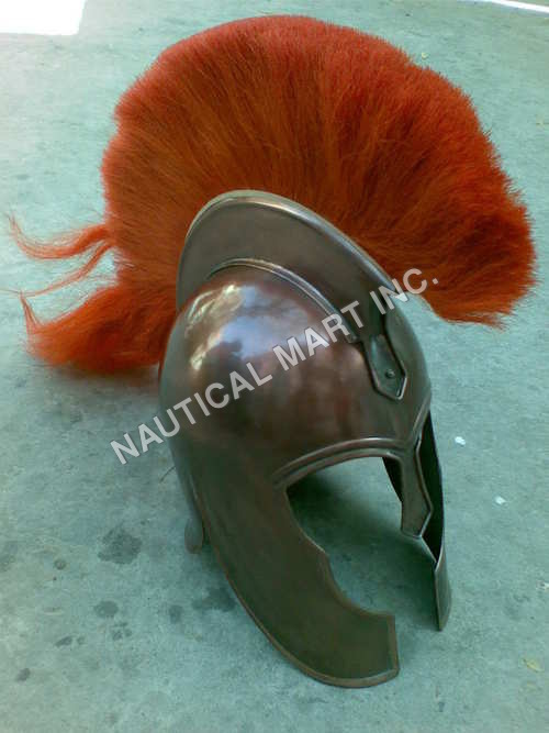 Armour Helmet Troy Spartan