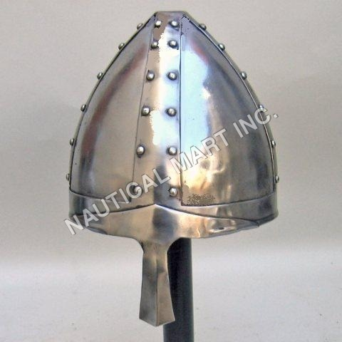 Norman Tri-angular Armor Helmet