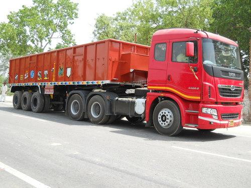 Sidewall Truck Trailer