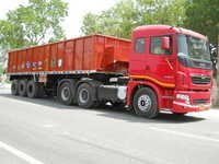 Sidewall Truck Trailer