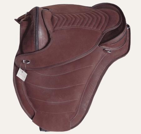 Treeless saddle