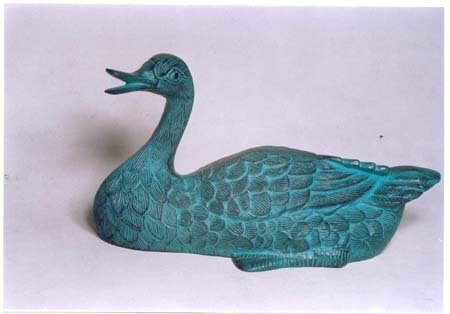 Garden Decoration Duck Sculpture